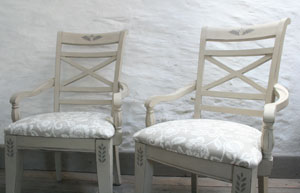 Pedran Painted Chairs
